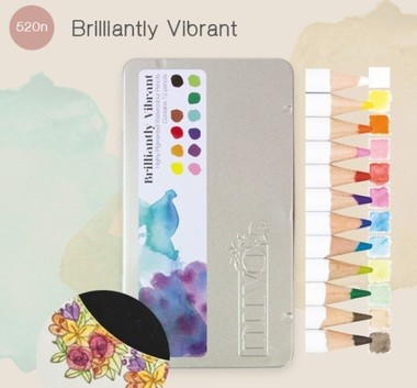 Nuvo - Watercolour pencils - Brilliantly Vibrant