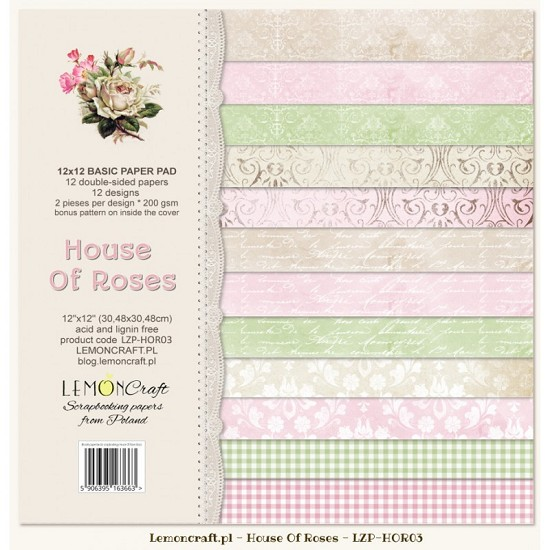Lemoncraft - Paper Collection Set - House of Roses II