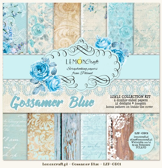 Lemoncraft - Paper Collection Set - Gossamer Blue
