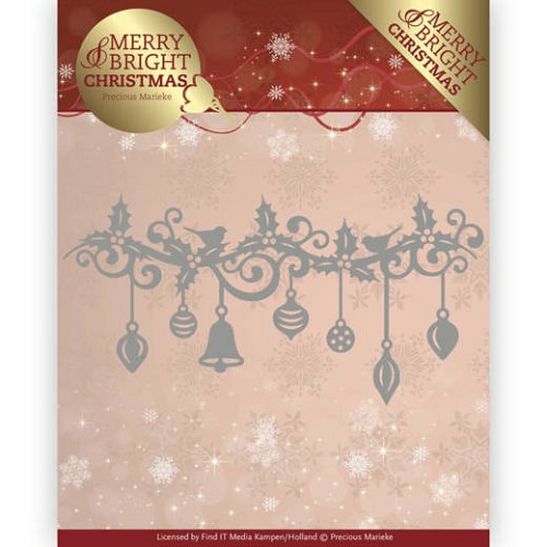 Stansmal  Precious Marieke - Merry and Bright Christmas - Christmas Garland