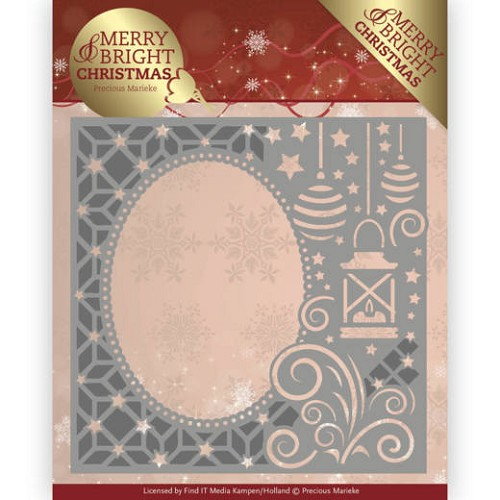 Stansmal Precious Marieke - Merry and Bright Christmas - Lantern Frame