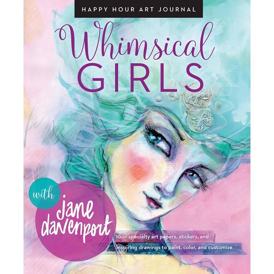 Jane Davenport - Whimsical Girls - Mixed Media Resources