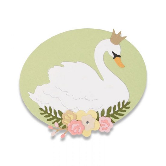Sizzix - Thinlits Die Set - Royal Swan (4pk)