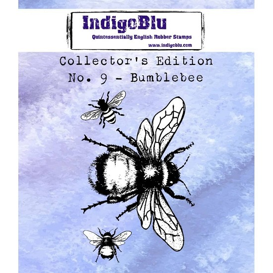 IndigoBlu - Rubber Stamp - Collectors Edition 9 - Bumblebee