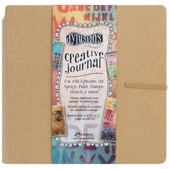 "Dylusions - Dyan Reaveley`s Creative Journal - Kraft 8"" x 8"""