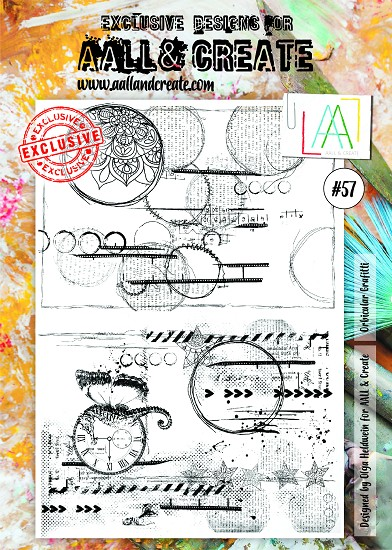 AALL & CREATE - Clearstamp A4 - number 57