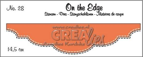 Stansmal Crealies - On the Edge - nummer 28