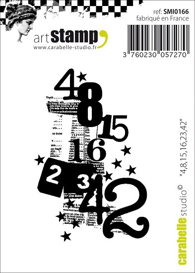 Carabelle Studio - Cling Stamp - Mini numbers
