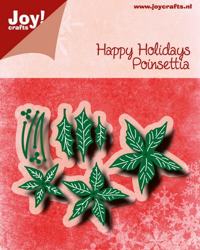 Noor! Design - Happy Holidays - Poinsettia`s