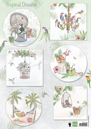 Marianne Design - Knipvel Els Weezenbeek - Tropical Dreams