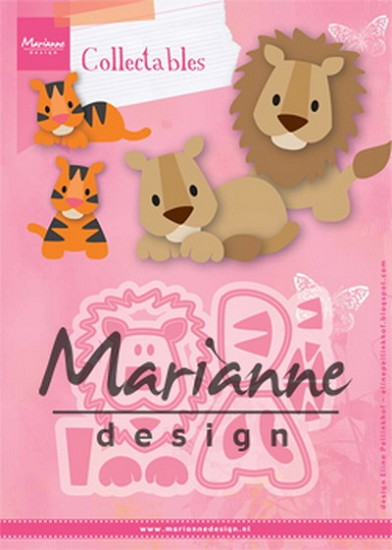 Marianne Design - Collectable - Lion / Tiger