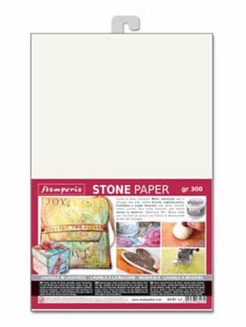 Stamperia - Stone Paper A4