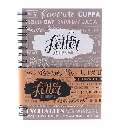 Papicolor - My Letter Journal - 961 Taupe – EN-talig