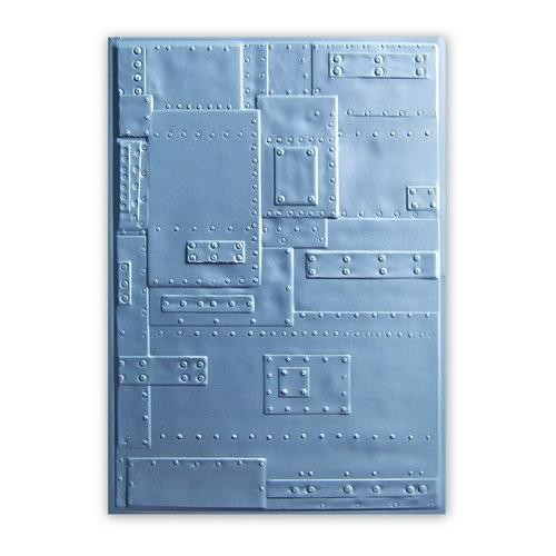 Sizzix - 3D Embossing Folder - Foundry 662717