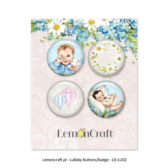 Embelishments Lemoncraft - Lullaby - Buttons 1