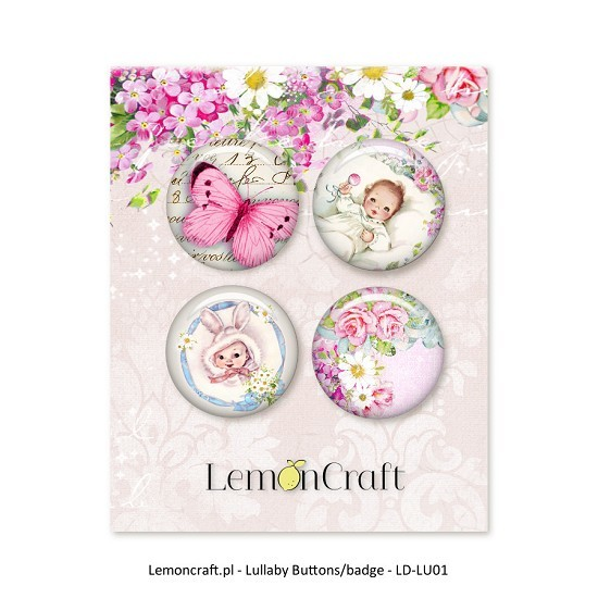Embelishments Lemoncraft - Lullaby - Buttons 2
