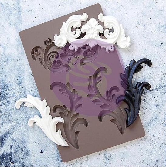 Prima Marketing - Re-Design Decor Mould - Everleigh Flourish
