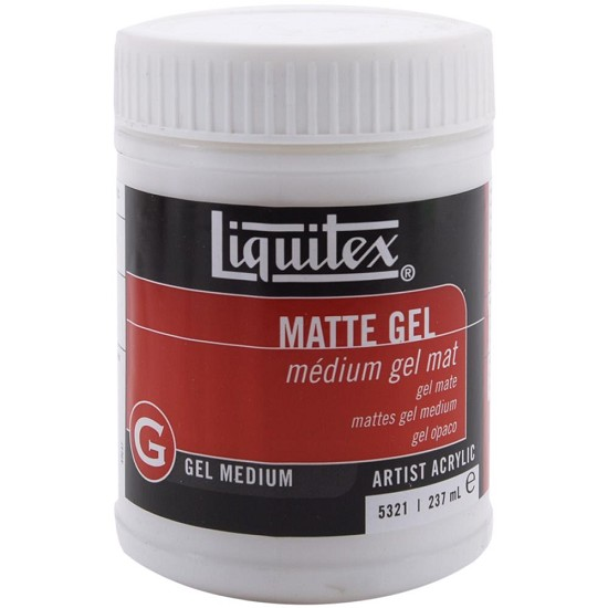 Liquitex - Matte Acrylic Gel Medium - 8oz