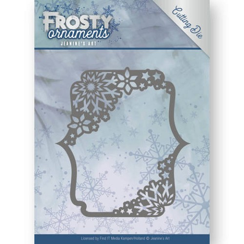 Dies - Jeanine's Art - Frosty Ornaments - Rectangle Ornament
