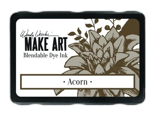Ranger MAKE ART - Blendable Dye Ink Pad -  Acorn