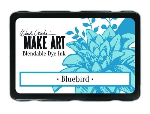 Ranger MAKE ART - Blendable Dye Ink Pad -  Bluebird
