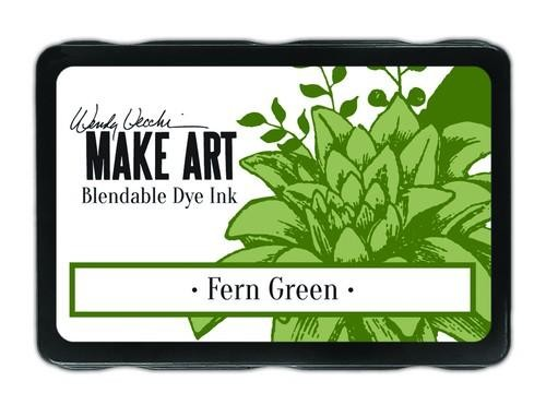 Ranger MAKE ART - Blendable Dye Ink Pad -  Fern Green