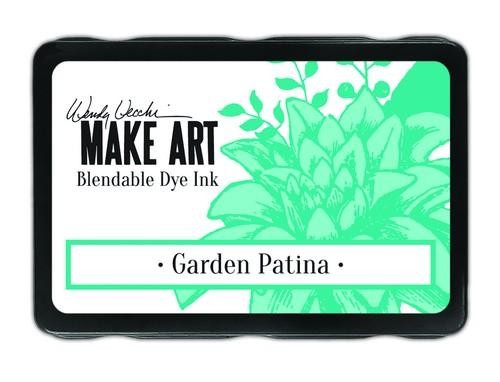 Ranger MAKE ART - Blendable Dye Ink Pad -  Garden Patina