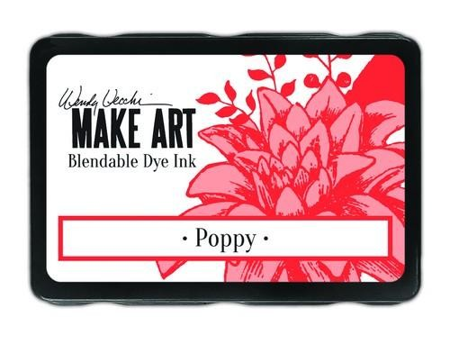 Ranger MAKE ART - Blendable Dye Ink Pad -  Poppy