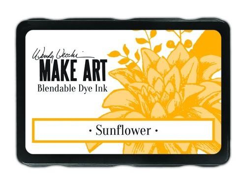 Ranger MAKE ART - Blendable Dye Ink Pad -  Sunflower