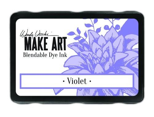 Ranger MAKE ART - Blendable Dye Ink Pad -  Violet