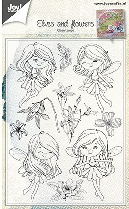 Joy! Crafts - Clearstamp Fairies & Flowers