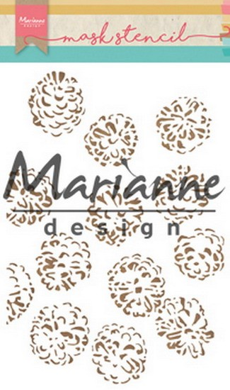 Marianne Design - Mask stencil - Tiny`s Pine Cones