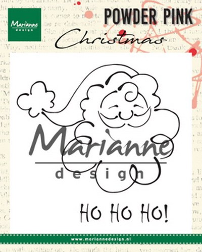 Marianne Design - Clearstamp Powder Pink - Santa Claus