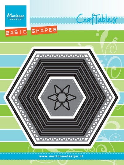 Marianne Design - Craftables - Basic Set: Hexagon
