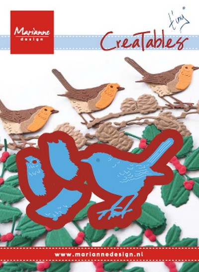 Marianne Design - Creatable - Tiny`s Red Robin