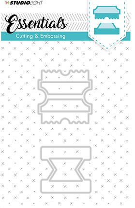 Studio Light - Embossing Die Cut - Stencil Essentials nr.123