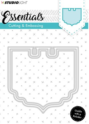 Studio Light - Embossing Die Cut - Stencil Essentials nr.119