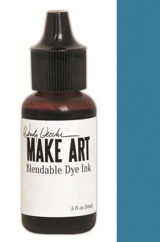 Ranger MAKE ART - Blendable Dye Ink REFILL - Bluebird