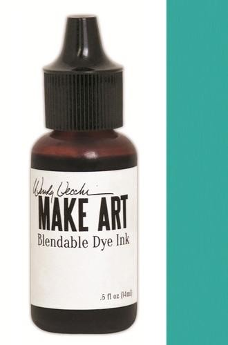 Ranger MAKE ART - Blendable Dye Ink REFILL - Garden Patina
