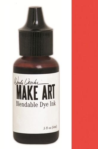 Ranger MAKE ART - Blendable Dye Ink REFILL - Poppy