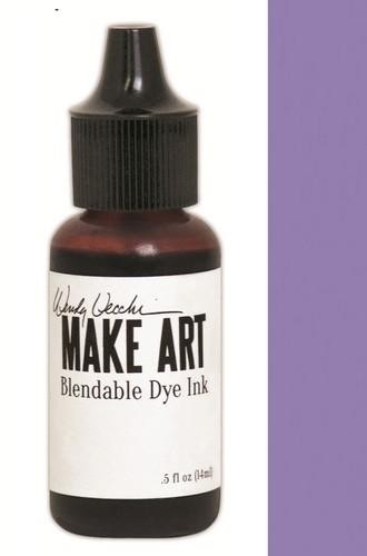 Ranger MAKE ART - Blendable Dye Ink REFILL - Violet