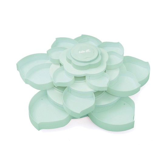 We R Memory Keepers - Embellishment storage Bloom - Mint