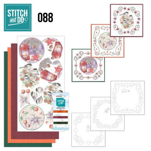 Stitch and Do 88 - Christmas Florals