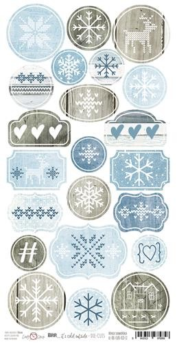 Craft-O-Clock - Die-cuts - Brr It`s Cold Outside