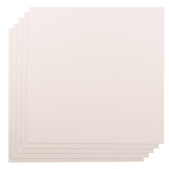 Grijskarton / Chipboard - 30,5x30,5cm - 2mm dik - 5 stuks