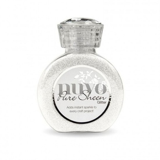 Nuvo - Pure Sheen Glitter - 100ml - Ice White