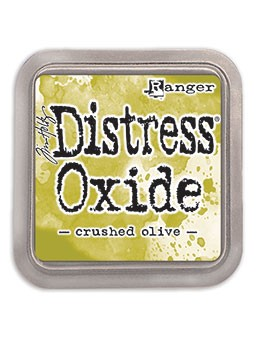 Distress Oxides Ink Pad - Crushed Olive