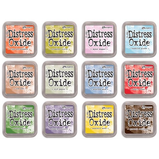 Distress Oxides Ink Pad - RELEASE 4 SET