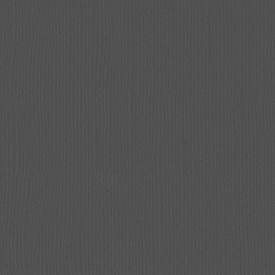 "Florence Cardstock - Texture 12x12"" - Anthracite"