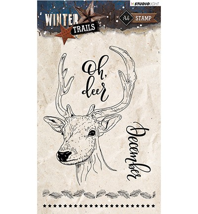 Studio Light - Winter Trails - Clearstamp STAMPWT302